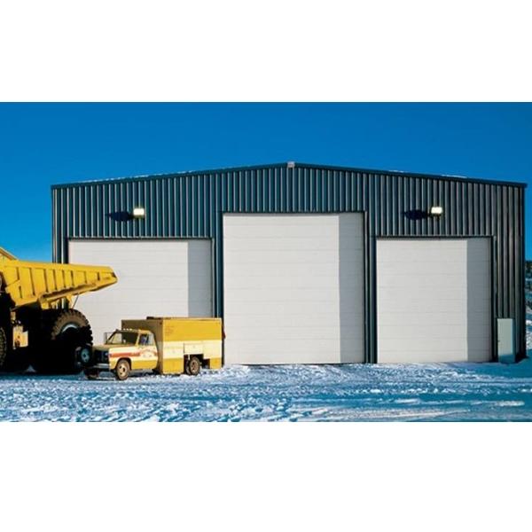 Промышленные секционные ворота ProMax 8500 х 7500