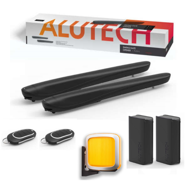 Автоматика для распашных ворот Alutech AMBO AM5000 KIT (комплект комфорт)