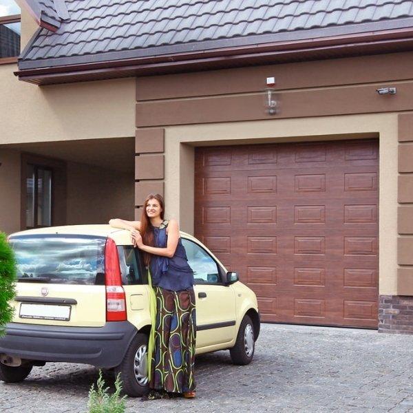 Секционные гаражные ворота Alutech Trend 2750 х 2500